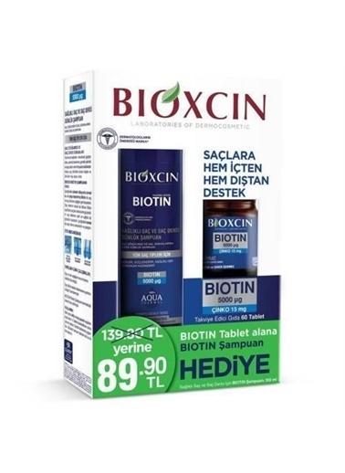 Bioxcin Bioxcin 60 Tablet 5000 Mcg Ve Biotin Şampuan 300 Ml Renksiz